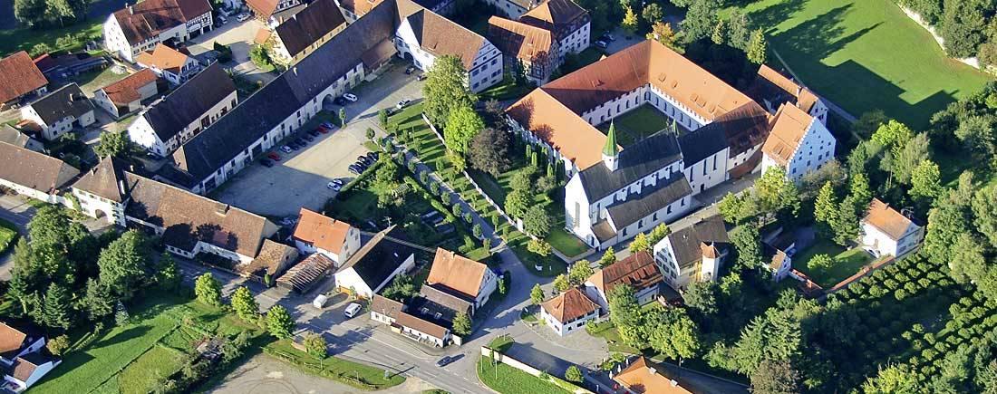 Kloster von oben