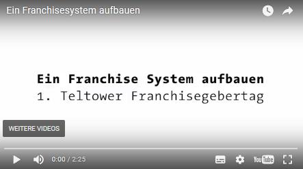 ein franchisesystem aufbauen